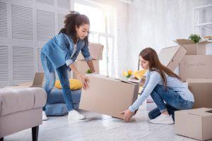 female millennial renters
