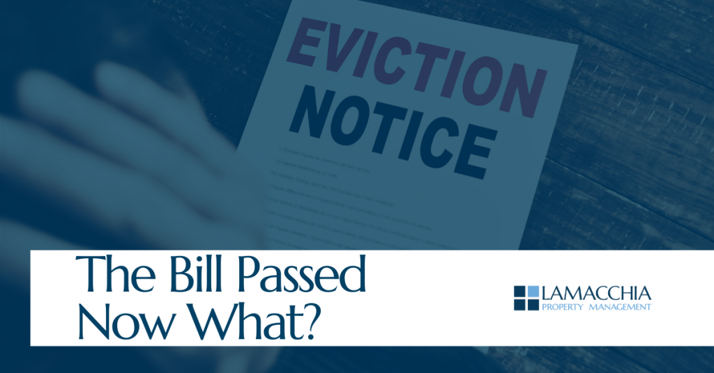 eviction bill passes