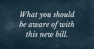 what to be aware of with the eviction bill