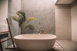 getting rid of mold in the bathroom