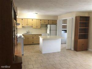 kitchen area in a cambridge apartment
